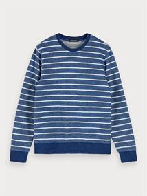 Scotch & Soda sweater Slim Fit 155258 in het Blauw