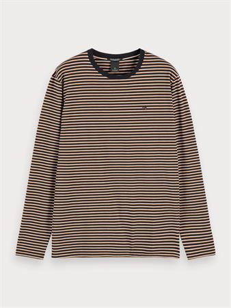 Scotch & Soda sweater Slim Fit 155319 in het Zwart