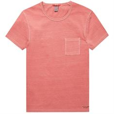 Scotch & Soda t-shirt 144216 in het Koraal