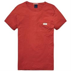 Scotch & Soda t-shirts 139709 in het Rood