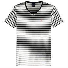 Scotch & Soda t-shirts 149007 in het Offwhite