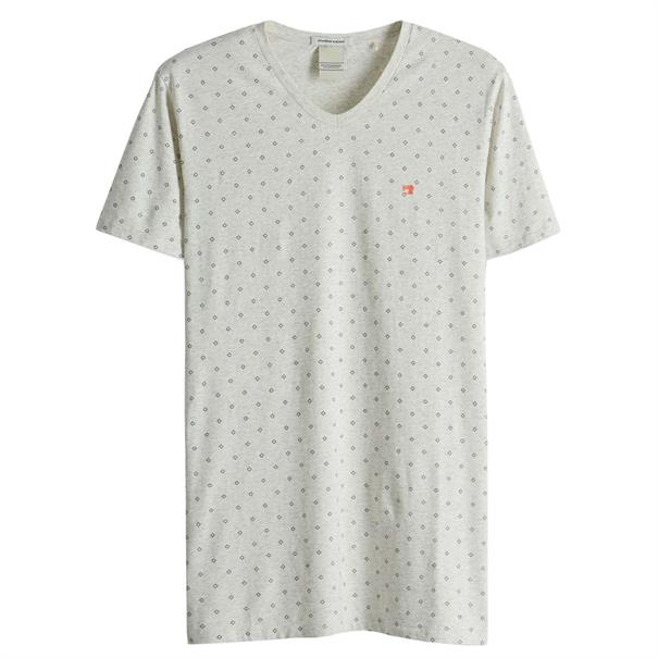 Scotch & Soda t-shirts 149007 in het Wit