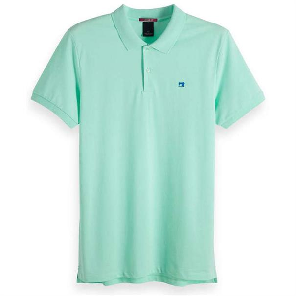 Scotch & Soda t-shirts 149073 in het Aqua