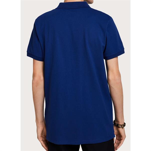 Scotch & Soda t-shirts 149073 in het Licht Blauw
