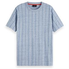 Scotch & Soda t-shirts 153617 in het Licht Blauw