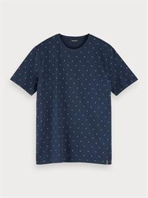 Scotch & Soda t-shirts 155390 in het Blauw