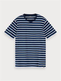 Scotch & Soda t-shirts 155390 in het Marine