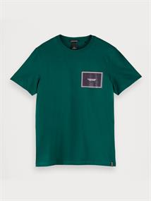 Scotch & Soda t-shirts 155414 in het Army