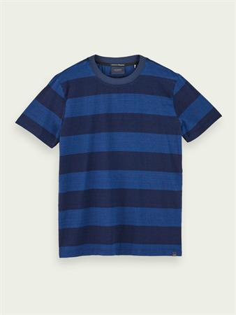 Scotch & Soda t-shirts 157523 in het Blauw