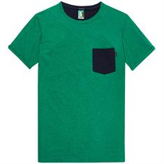 Scotch & Soda t-shirts Slim Fit 147354 in het Groen