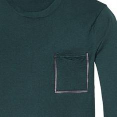 Scotch & Soda truien 139791 in het Donker Groen