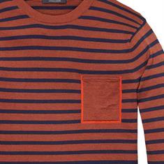 Scotch & Soda truien 139791 in het Roest