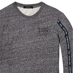 Scotch & Soda truien 145463 in het Donker grijs