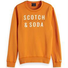 Scotch & Soda truien Slim Fit 150525 in het Oranje