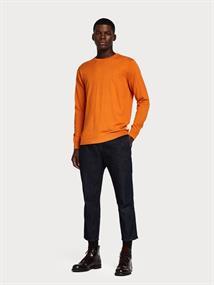 Scotch & Soda truien Slim Fit 150556 in het Oranje