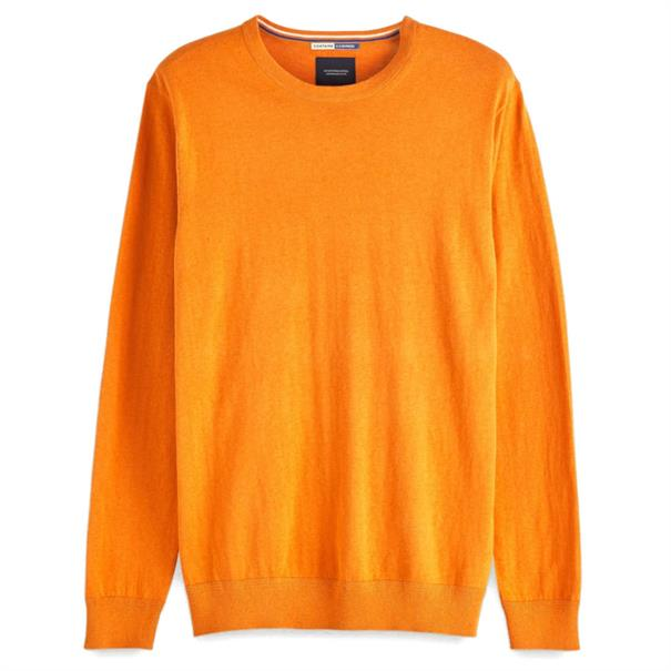Scotch & Soda truien Slim Fit 150556 in het Oranje