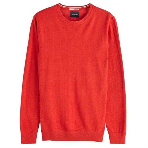 Scotch & Soda truien Slim Fit 150556 in het Rood