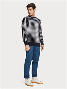 Scotch & Soda truien Slim Fit 155491 in het Marine