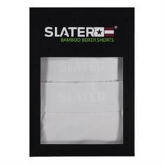 Slater ondergoed Bamboo 8800 2 pack in het Wit