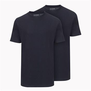 Slater t-shirts Basic 2510 in het Marine