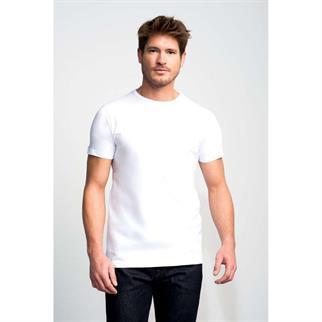 Slater t-shirts Basic 7500 in het Wit