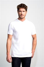 Slater t-shirts Basic 7600 in het Wit
