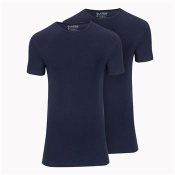Slater t-shirts Stretch Fit 6510 in het Marine