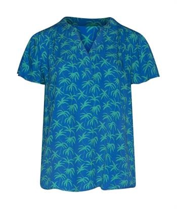Smashed Lemon blouse 21131 in het Hemels Blauw