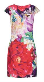 Smashed Lemon jurk 20132 in het Multicolor