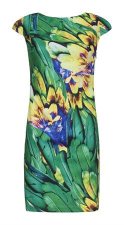 Smashed Lemon jurk 20156 in het Groen