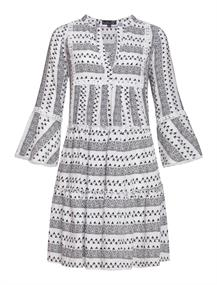 Smashed Lemon jurk 20159 in het Zwart / Wit
