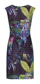 Smashed Lemon jurk 20235 in het Multicolor
