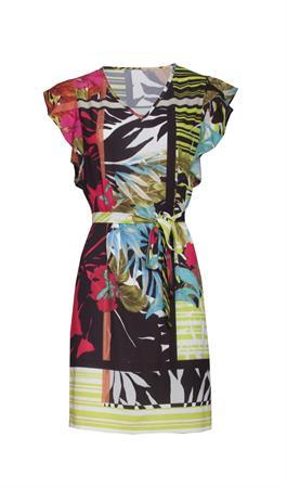 Smashed Lemon jurk 20289 in het Rood