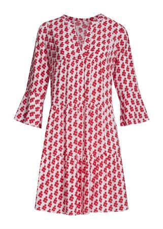 Smashed Lemon jurk 21050 in het Wit