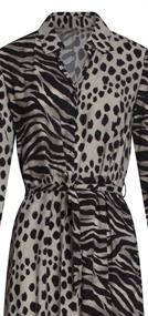 Smashed Lemon jurk 21095 in het Zwart / Wit