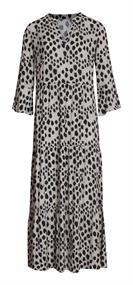 Smashed Lemon jurk 21096 in het Zwart / Wit