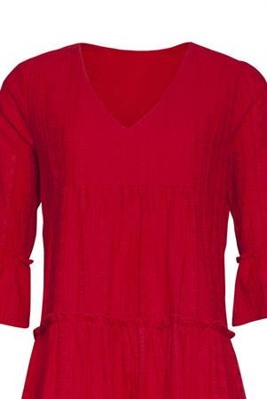Smashed Lemon jurk 21179 in het Rood