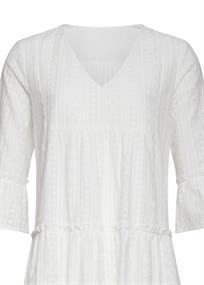 Smashed Lemon jurk 21179 in het Wit
