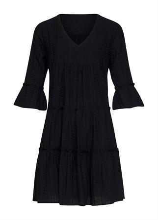 Smashed Lemon jurk 21179 in het Zwart