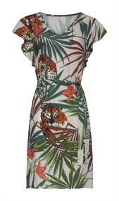 Smashed Lemon jurk 21198 in het Multicolor