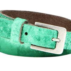 Smit Mode accessoire berit velvet 2 in het Groen