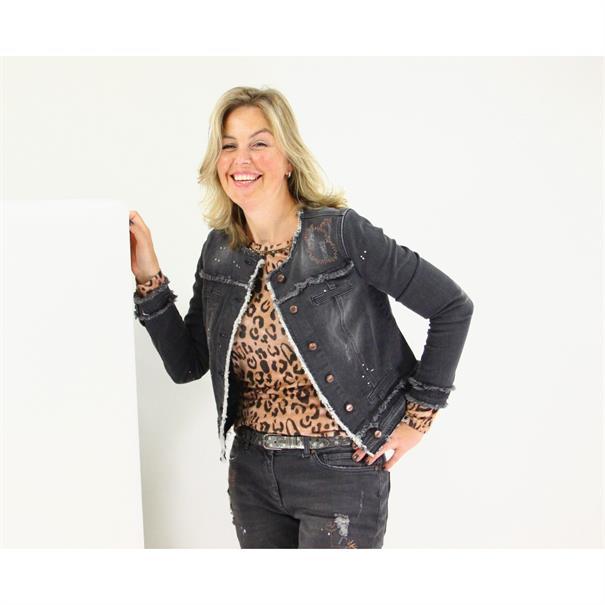 Smit Mode accessoire jacco-pitone in het Grijs