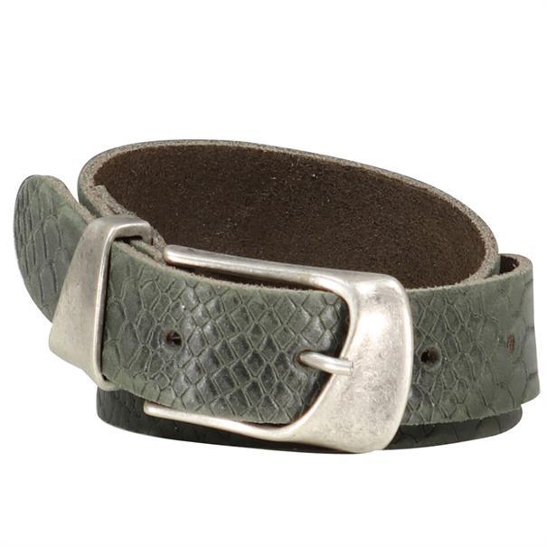Smit Mode accessoire jena-castorjungle in het Olijf groen
