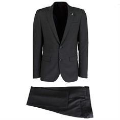 Smit Mode kostuum 2855607-drop8 in het Donker grijs