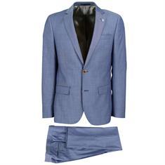 Smit Mode kostuum Slim Fit 203010-drop8 in het Blauw