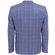Smit Mode kostuum Slim Fit 213000-drop8 in het Blauw