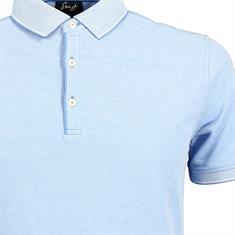 Smit Mode polo 81-5291-8 in het Blauw