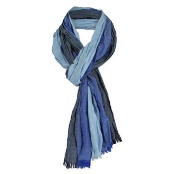 Smit Mode sjaals PINS10001A in het Blauw