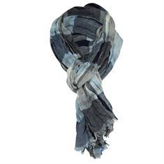 Smit Mode sjaals PINS10002A in het Blauw