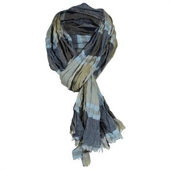 Smit Mode sjaals PINS10002B in het Khaky beige